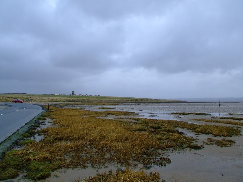 Holy Island, as seen from the tidal causeway