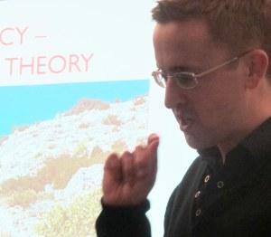 David Roberts discusses theoretical frameworks for landscape agency.