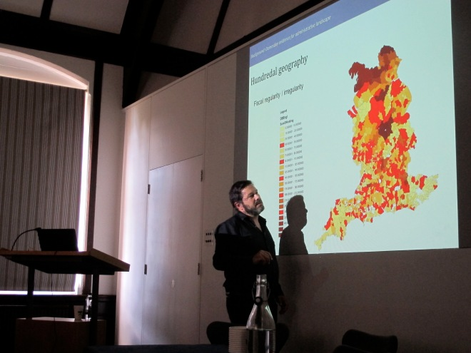Stuart Brookes discussing later Anglo-Saxon England's hundredal geography